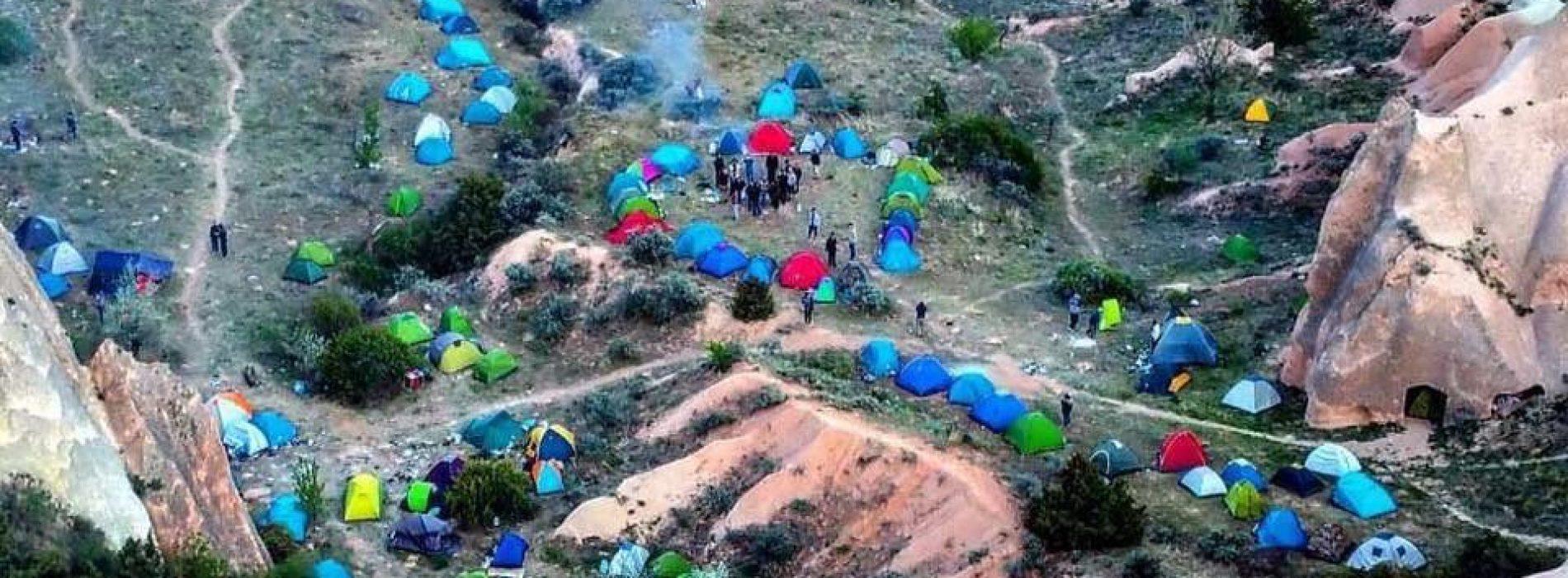 Şirinler köyü değil Bir Interrail Turkiye Kampı