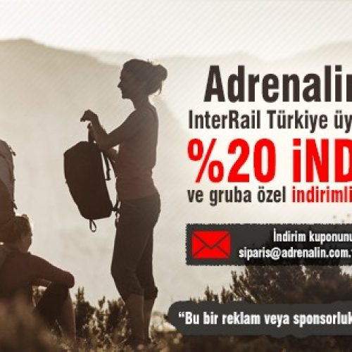 Interrail Türkiye ve Adrenalin Outdoor | Interrail ve Camprail Seti