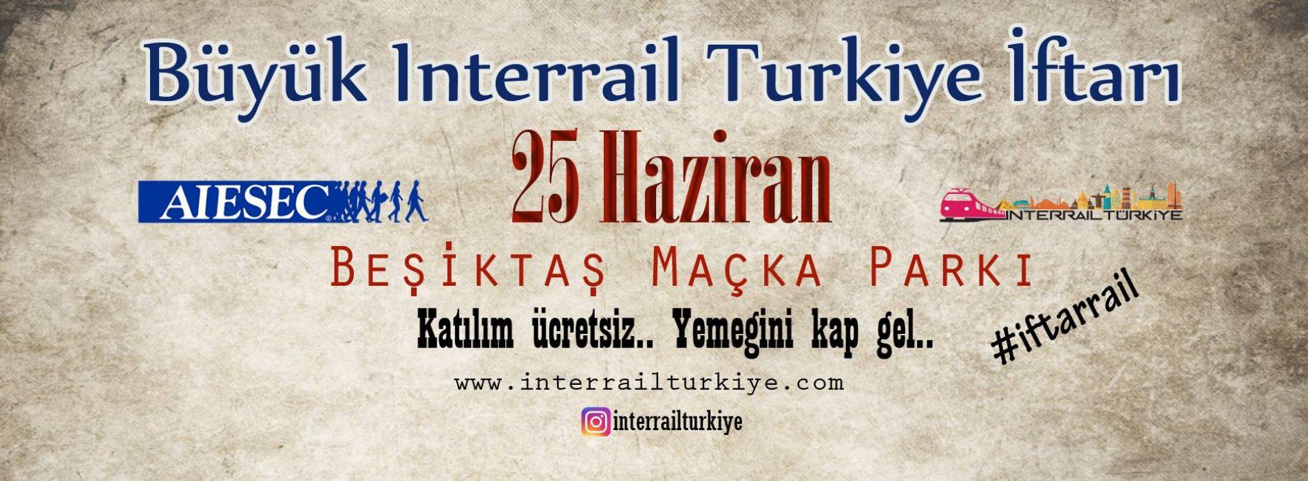 25 Haziran Beşiktaş Interrail Türkiye İftarı