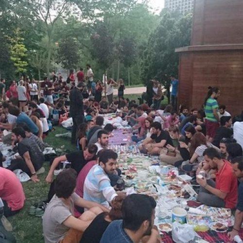 InterRail Türkiye Istanbul Iftarı Organizasyonu