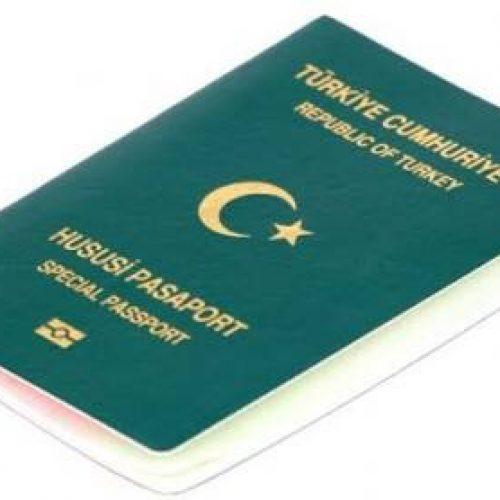Yeşil ve Gri Pasaport'a Yurtdışı Yasağı