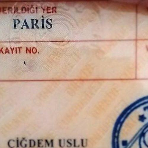 Paris'e Girişte Olay Çıkması ve Paris Yazan Kimlik Almak :)