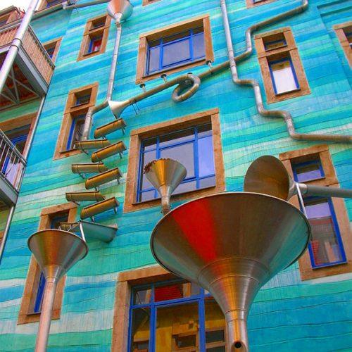 Yağmur Yağınca Müzik Çalan Bir Ev Hayal Edin | Dresden