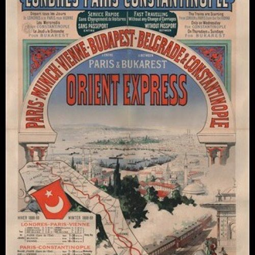Istanbul'u Paris'e Bağlayan Muhteşem Tren