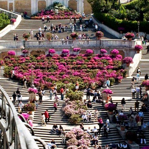 Roma Ispanyol Merdivenlerinde Yeme İçme Yasaklandı