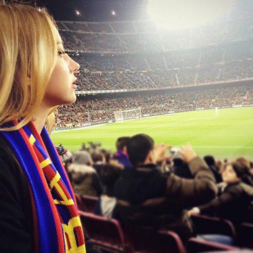 Bir Kadın Bir Barcelona