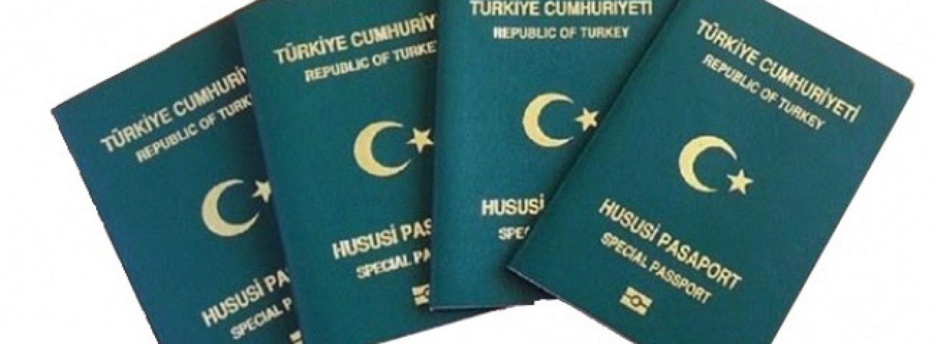 Son Dakika: İş Adamlarına Yeşil Pasaport