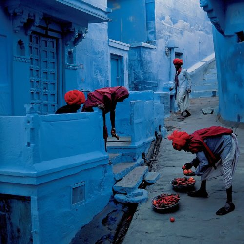Muhteşem Fotoğraflarıyla Hindistan'daki Mavi Şehir