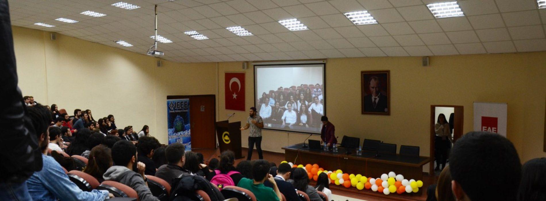 İstanbul Üniversitesi Konferansı Tamamlandı