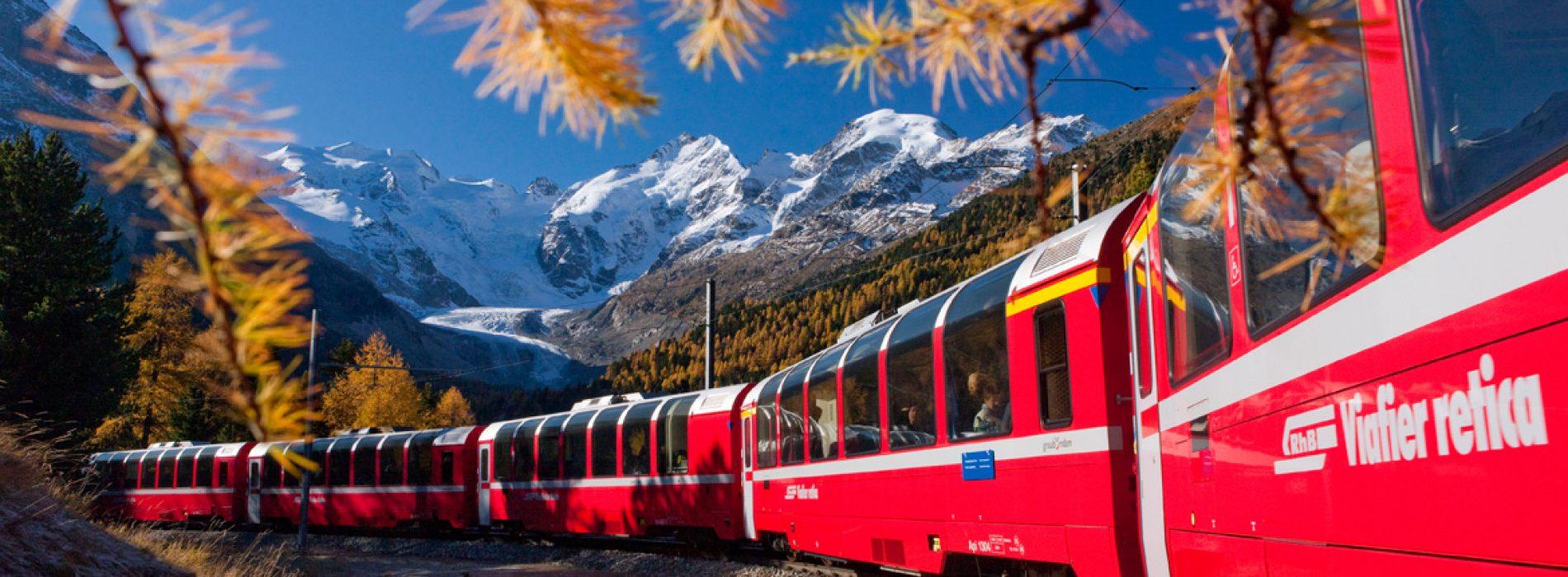 Muhteşem Rotasıyla İsviçre Bernina Ekspress