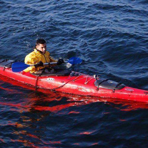 Atlas Okyanusunu Kürek Çekerek Geçmeye Çalışan Türk