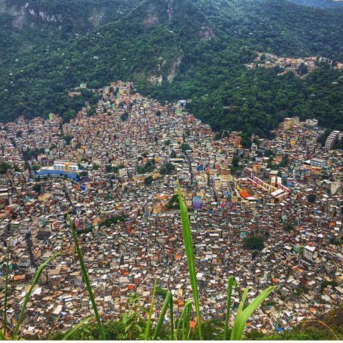 Favelalar Rio De Janerio Suç Sokakları