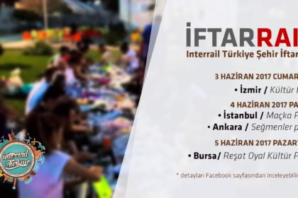 InterRail Turkiye Iftarları 2017