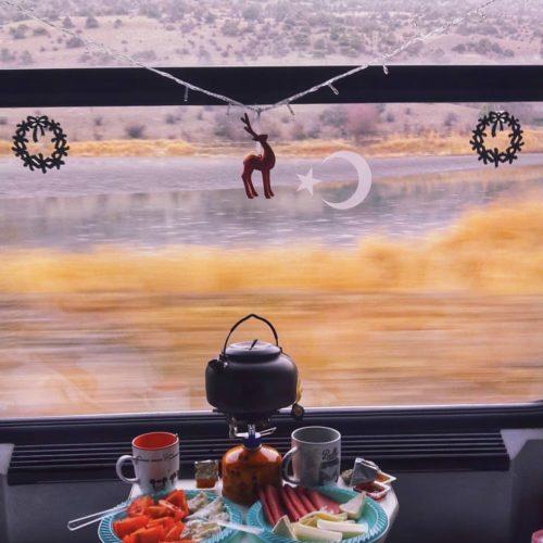 Bir Tren Yolu Doğu Ekspresi | KarsRail