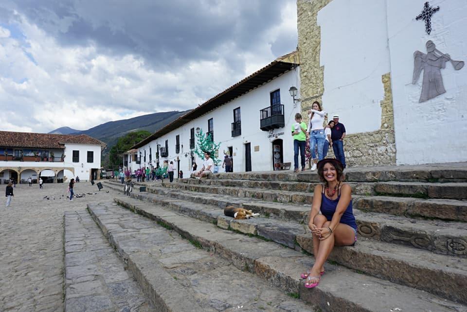 Baskent Bogotadan 3 saat uzaktaki Leyva Köyü 1