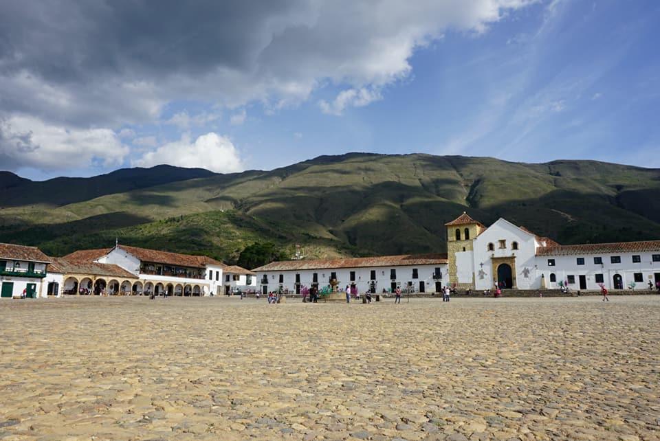 Baskent Bogotadan 3 saat uzaktaki Leyva Köyü