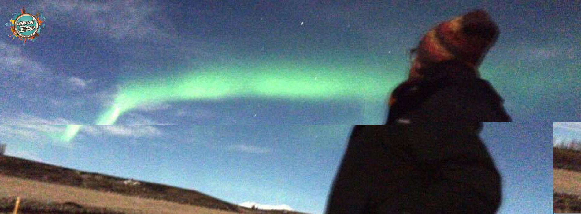 Bu bir kuzey ışıkları hikayesidir
