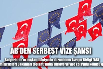 AB'den Türkiye'ye vize serbestisi şartı