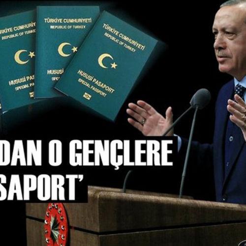 Erdoğan'dan yeşil pasaport müjdesi!