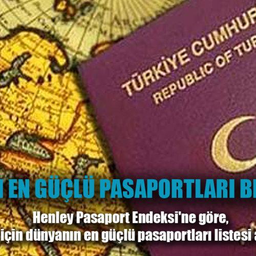 Dünyanın en güçlü pasaportları belli oldu! Türkiye kaçıncı sırada?