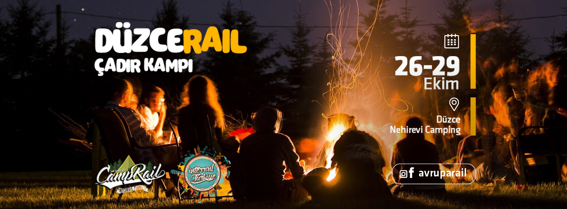 DüzceRail Çadır Kampı | InterRail Turkiye